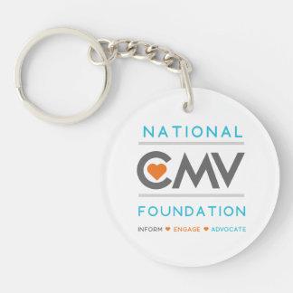 National CMV Foundation Keychain