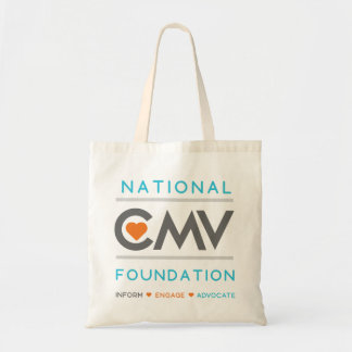 National CMV Foundation Tote Bag