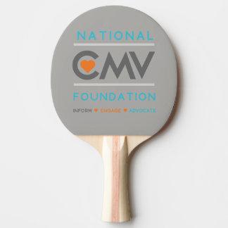 National CMV Ping Pong Paddle