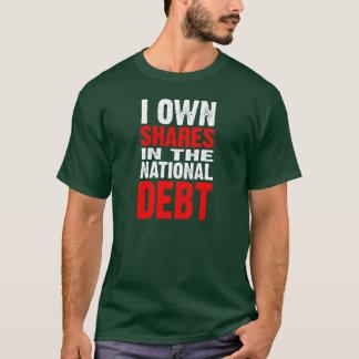 National Debt (dark) - Customized T-Shirt