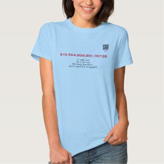 National Debt T Shirts