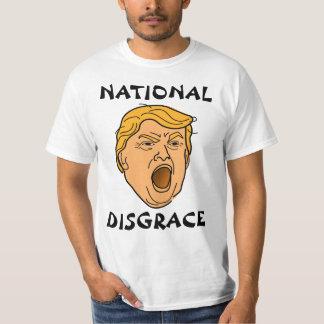 National Disgrace Donald Trump Anti Trump T-Shirt