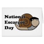 National Escargot Day Greeting Card