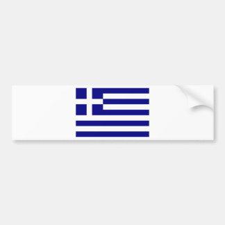 National flag Greece Bumper Stickers