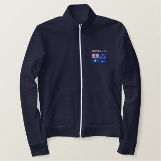 National Flag of Australia Embroidered Jacket
