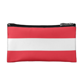 National Flag of Austria Cosmetic Bag