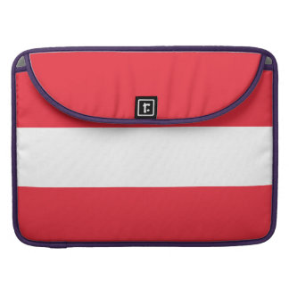 National Flag of Austria Sleeve For MacBooks