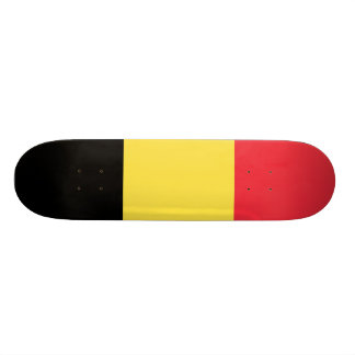 National Flag of Belgium 21.3 Cm Mini Skateboard Deck
