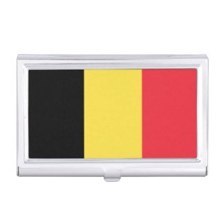 National Flag of Belgium Business Card Holder
