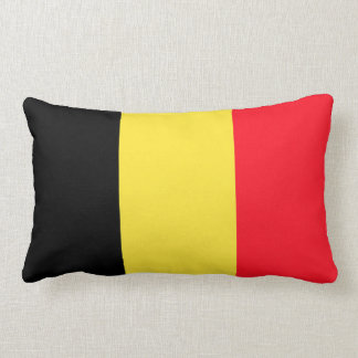 National Flag of Belgium Lumbar Cushion