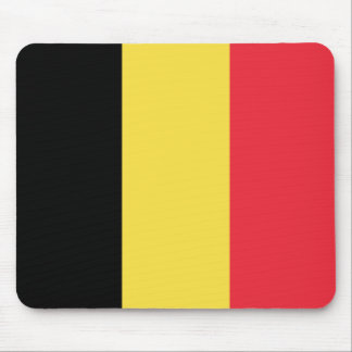National Flag of Belgium Mouse Pad