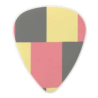 National Flag of Belgium Polycarbonate Guitar Pick