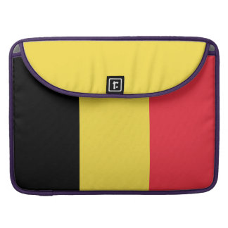 National Flag of Belgium Sleeve For MacBook Pro