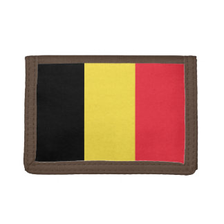 National Flag of Belgium Tri-fold Wallet