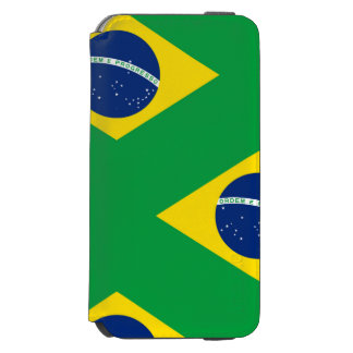 National Flag of Brazil, accurate proportion color Incipio Watson™ iPhone 6 Wallet Case