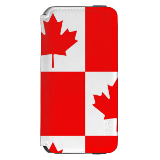 National Flag of Canada, maple leaf, high detailed Incipio Watson™ iPhone 6 Wallet Case
