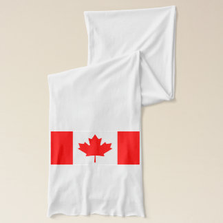 National Flag of Canada, maple leaf, high detailed Scarf