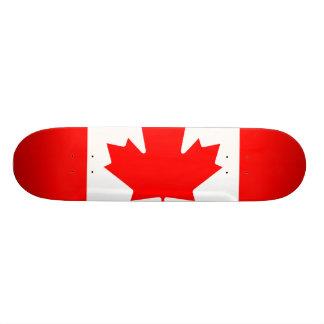 National Flag of Canada, maple leaf, high detailed Skateboards