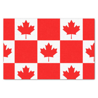 National Flag of Canada, maple leaf, high detailed Tissue Paper