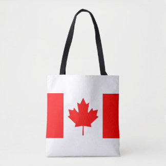 National Flag of Canada, maple leaf, high detailed Tote Bag