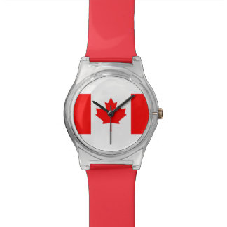 National Flag of Canada, maple leaf, high detailed Watch