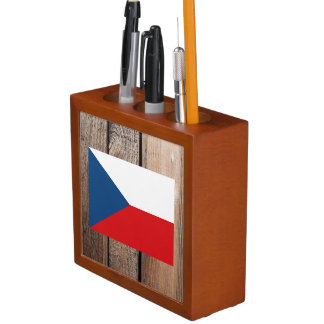 National Flag of Czech Republic Desk Organiser