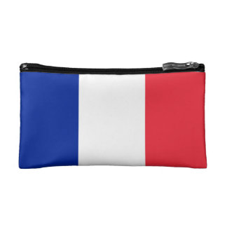 National Flag of France Cosmetic Bags