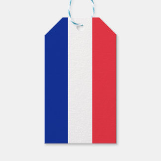 National Flag of France Gift Tags
