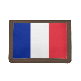 National Flag of France Tri-fold Wallets