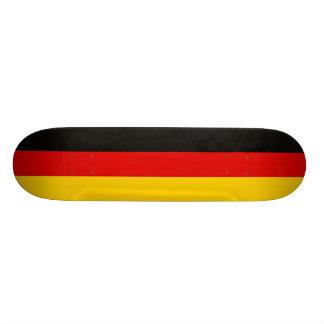 National Flag of Germany 20 Cm Skateboard Deck