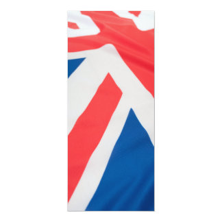 National Flag Of Great Britain 10 Cm X 24 Cm Invitation Card
