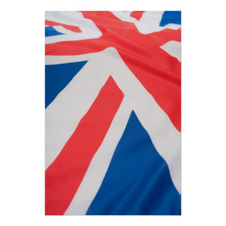 National Flag Of Great Britain Poster