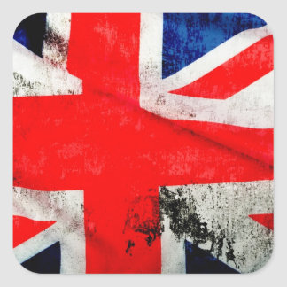 National Flag Of Great Britain Square Sticker