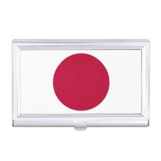 National Flag of Japan Business Card Holder