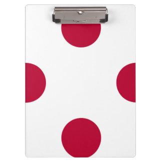 National Flag of Japan Clipboard