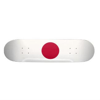 National Flag of Japan Custom Skateboard