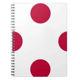 National Flag of Japan Notebooks