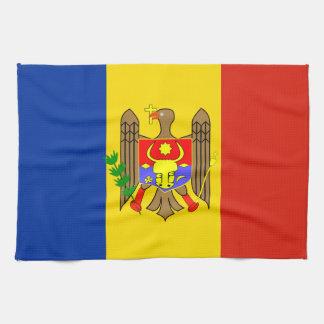 National flag of Moldova Tea Towel