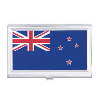 National Flag of New Zealand Business Card Holder