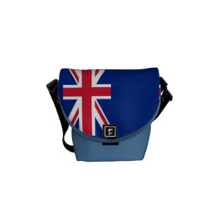 National Flag of New Zealand Commuter Bags