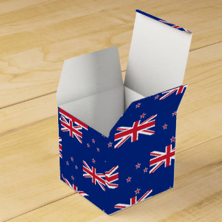 National Flag of New Zealand Favour Box