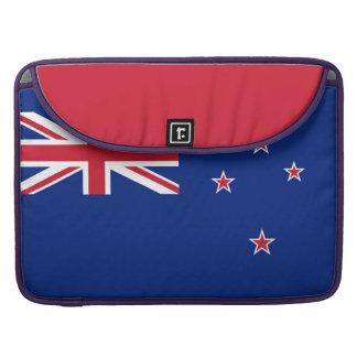 National Flag of New Zealand Sleeve For MacBooks