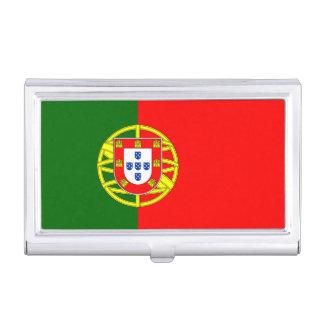 National Flag of Portugal Business Card Holder