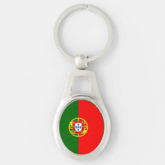 National Flag of Portugal Key Ring
