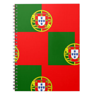 National Flag of Portugal Notebook