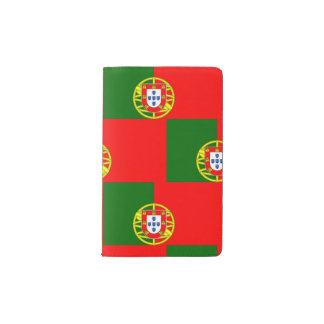 National Flag of Portugal Pocket Moleskine Notebook