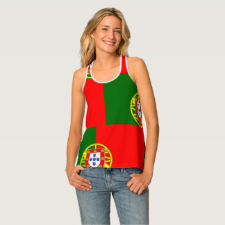 National Flag of Portugal Singlet