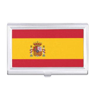 National Flag of Spain Business Card Holder