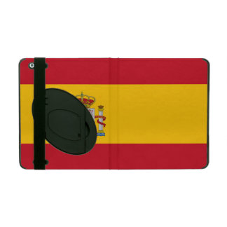 National Flag of Spain iPad Folio Case