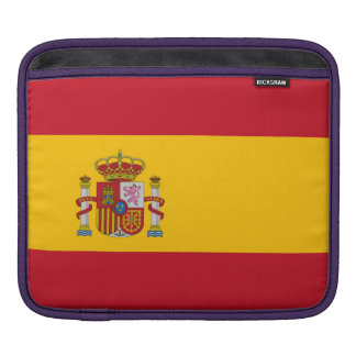 National Flag of Spain iPad Sleeve